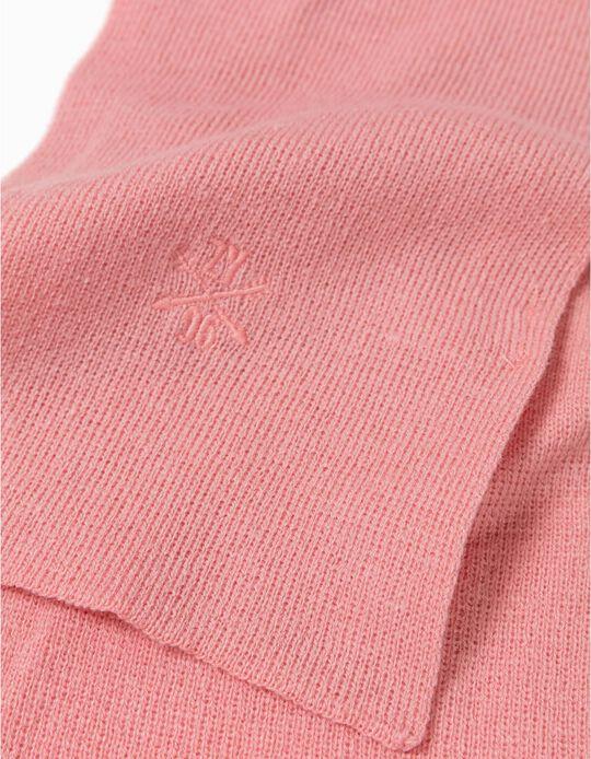 Cachecol básico rosa