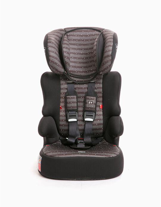 Cadeira Auto Gr 1/2/3 Izzygo Plus Zy Safe Stars Black