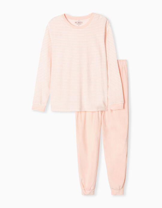 Pijama de Veludo, Mulher, Rosa