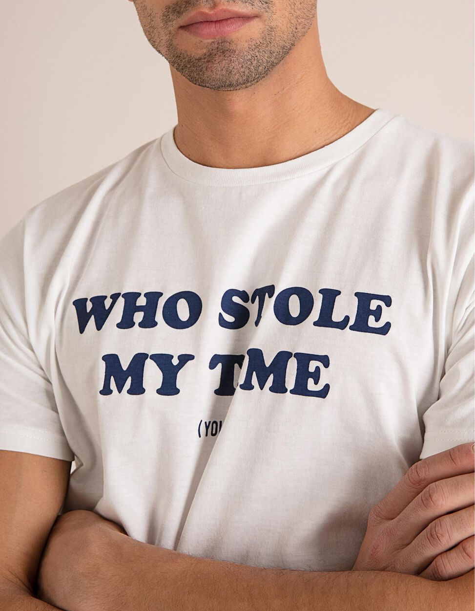 T-Shirt Who Stole My Time