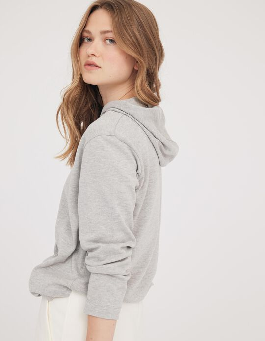 Hooded Sweatshirt, Made in Portugal