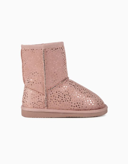 Boots for Girls 'Dots', Pink