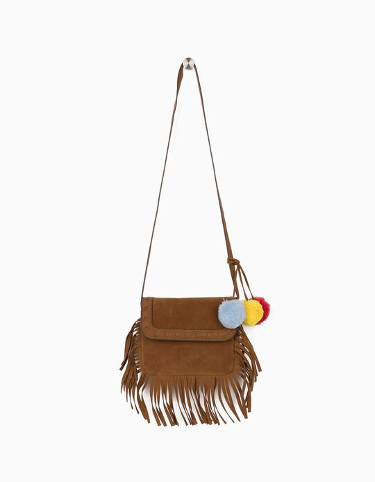 Crossbody Bag with Fringes