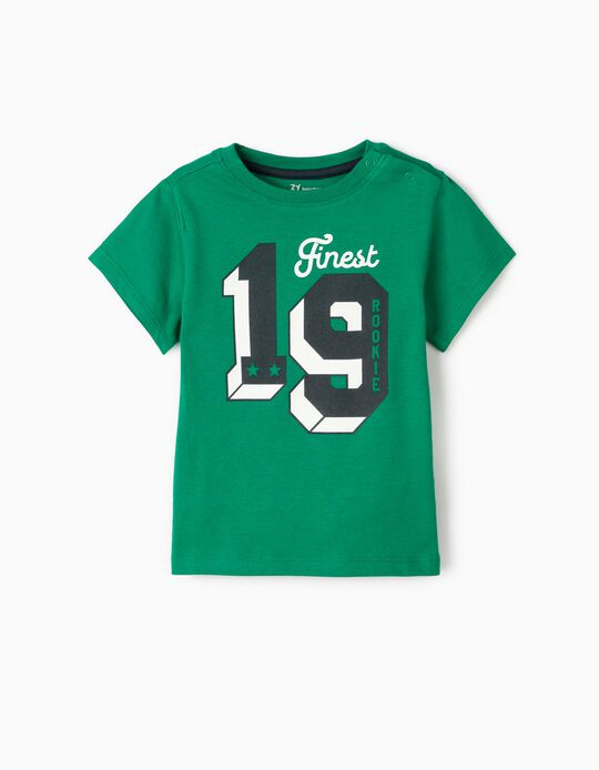 T-Shirt for Baby Boys 'Rookie', Green
