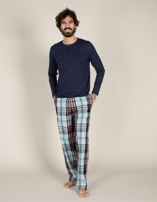 Plaid pyjama set