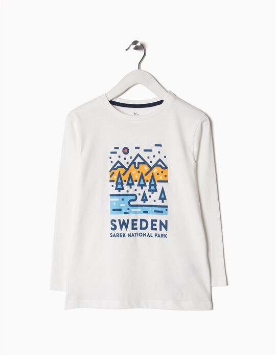 T-shirt Manga Comprida Sweden