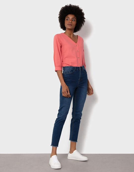 Slim Fit, High Waist Jeans, for Women