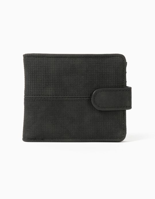 Black Wallet, for Men