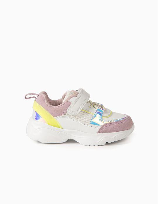 Chunky Trainers for Baby Girls 'ZY Superlight Runner', Multicoloured