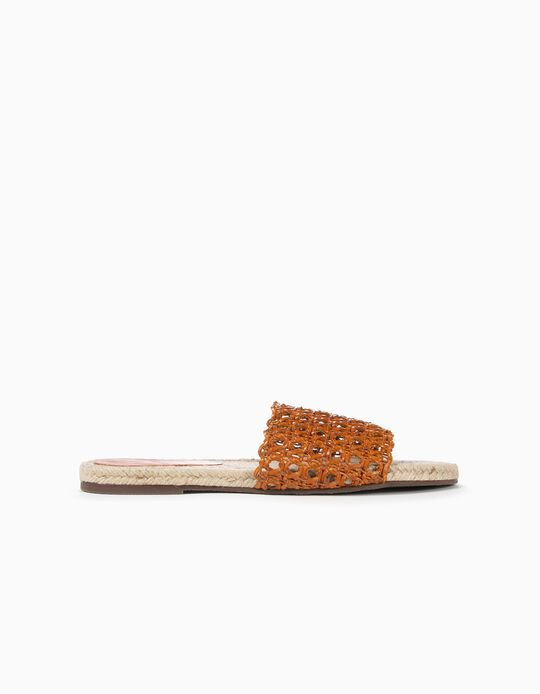 Flat Sandals, Perforated