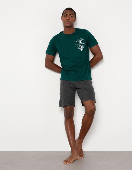 Pijama de Algodão, para Homem