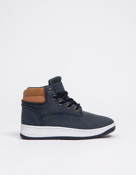 Sports Boots, Boys, Dark Blue