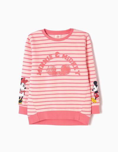 Sweatshirt Riscas Minnie & Mickey