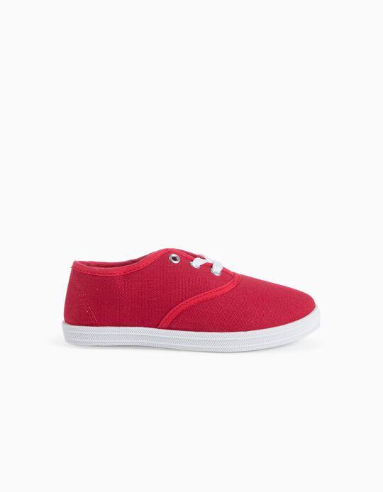 Sapatilhas Plimsoles Red