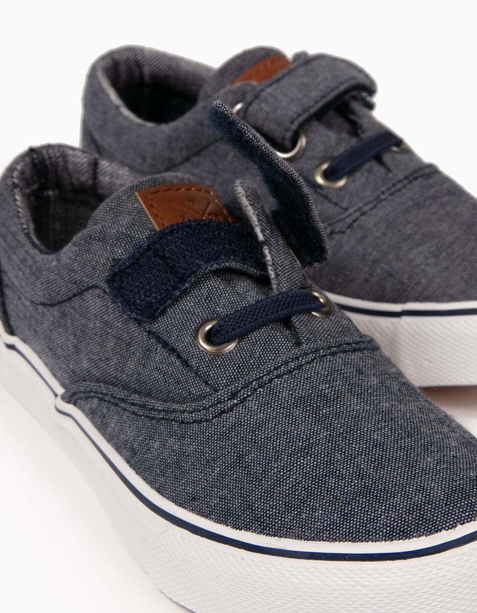 Sapatilhas com Velcro Azuis