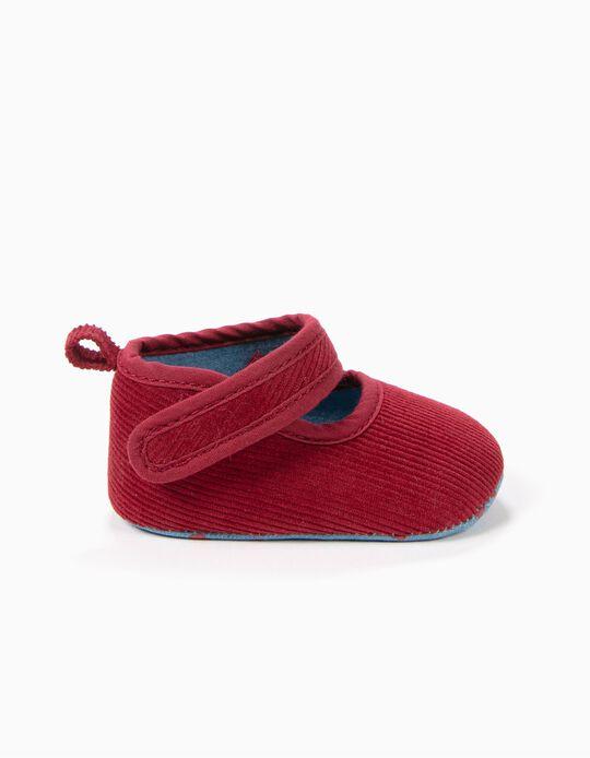 Sapatos Pre-Walker Bombazine Vermelho Escuro