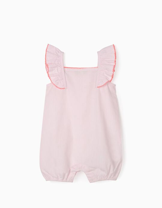 Plumeti Sleepsuit for Baby Girls, Pink