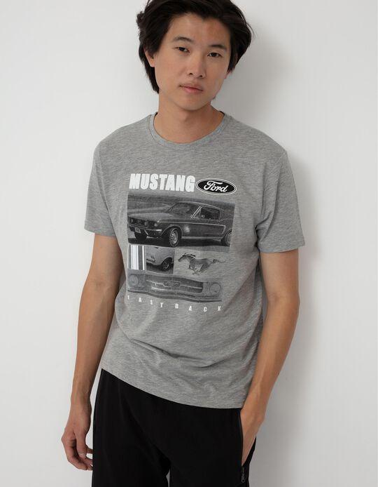 Ford T-shirt, Men, Grey