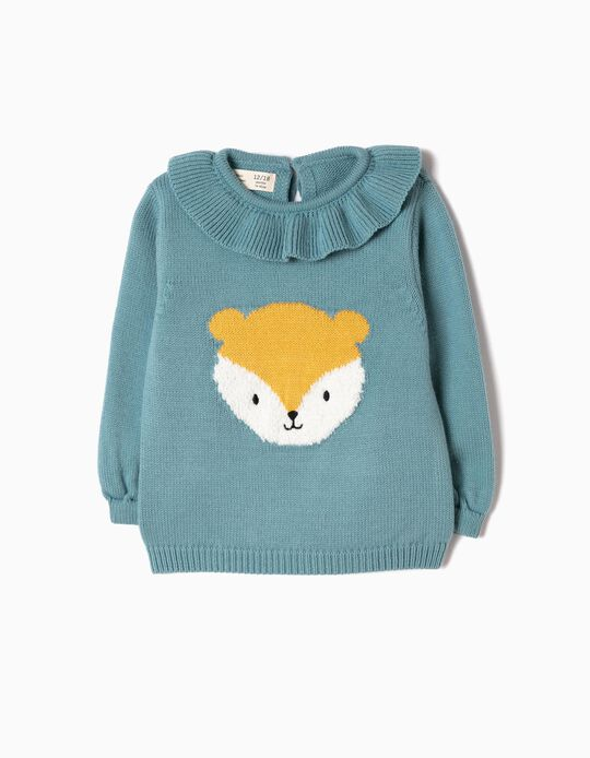 Camisola de Malha Hamster Azul