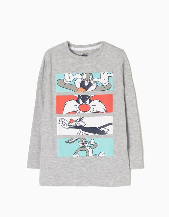 T-shirt Manga Comprida Looney Tunes