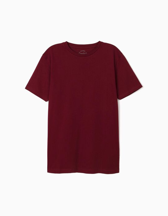Cotton T-shirt, Essentials, for Men