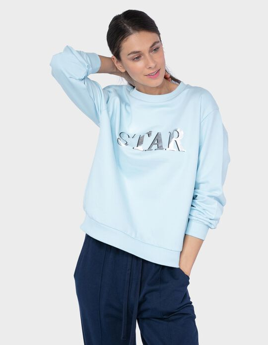 Carded Sweatshirt, 'Star'