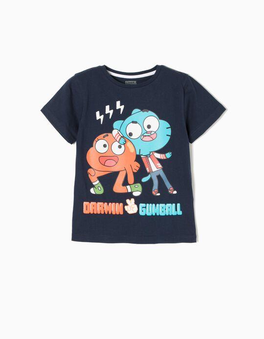 Blue T-Shirt, Gumball