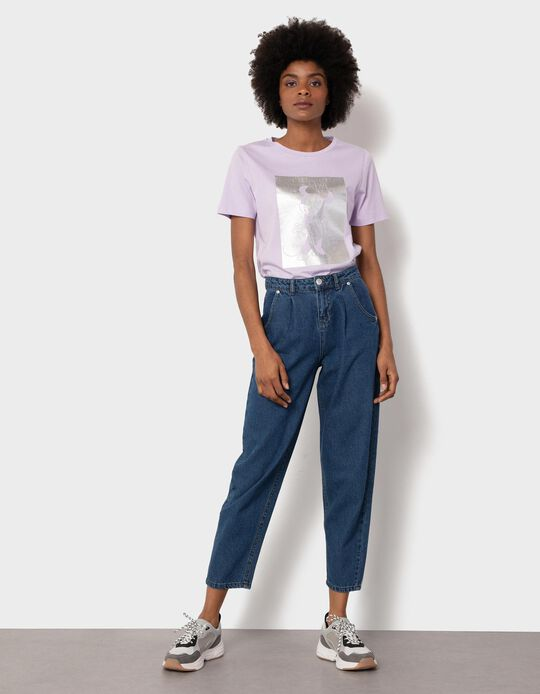 Slouchy Jeans with Darts, Women