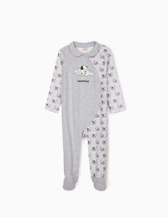 Sleepsuit for Baby Boys, '101 Dalmatians', Grey/White