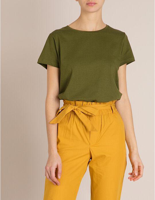 T-Shirt Algodão Verde