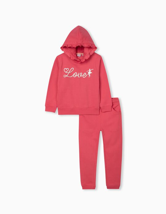 Tracksuit for Girls, Pink