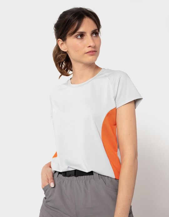 T-shirt with Breathable Panels, Women