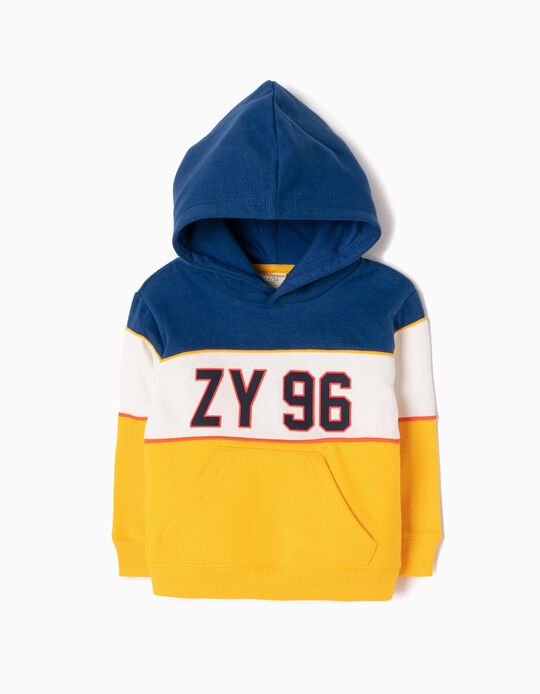 Hoodie for Baby Boys 'ZY 96', Multicolour