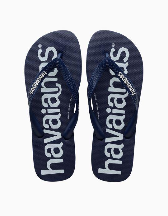 Havaianas Top Logomania, Men, Navy Blue