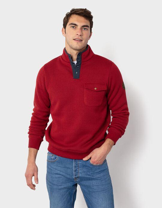 Fine Knit Sweatshirt, Safari