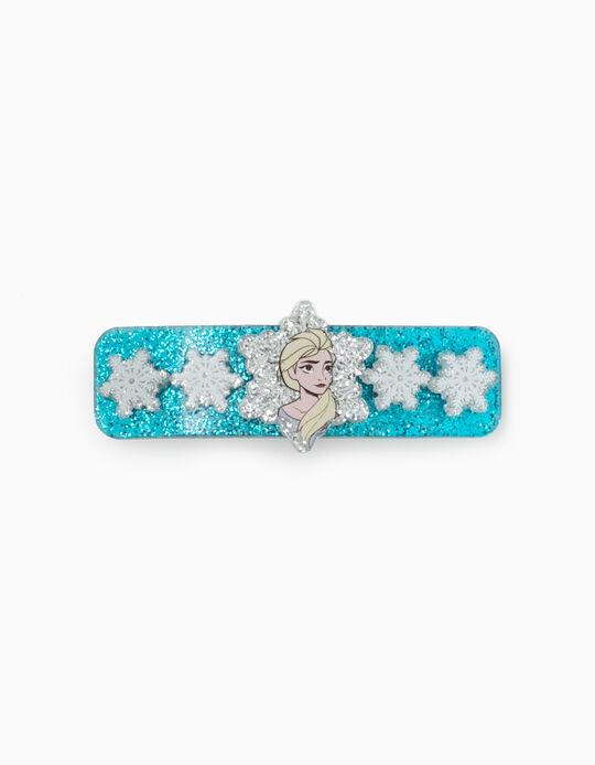 Hair Slide For Girls and Baby Girls 'Elsa', Blue