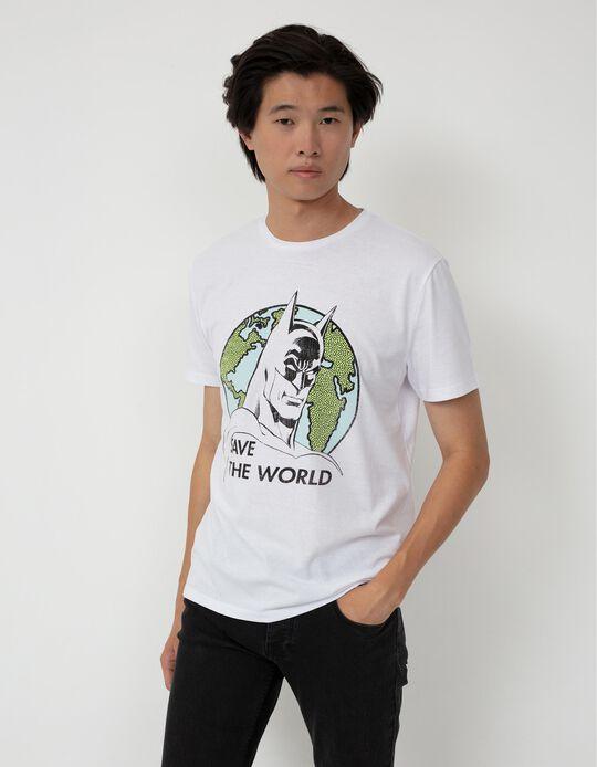 Batman T-shirt, Men, White