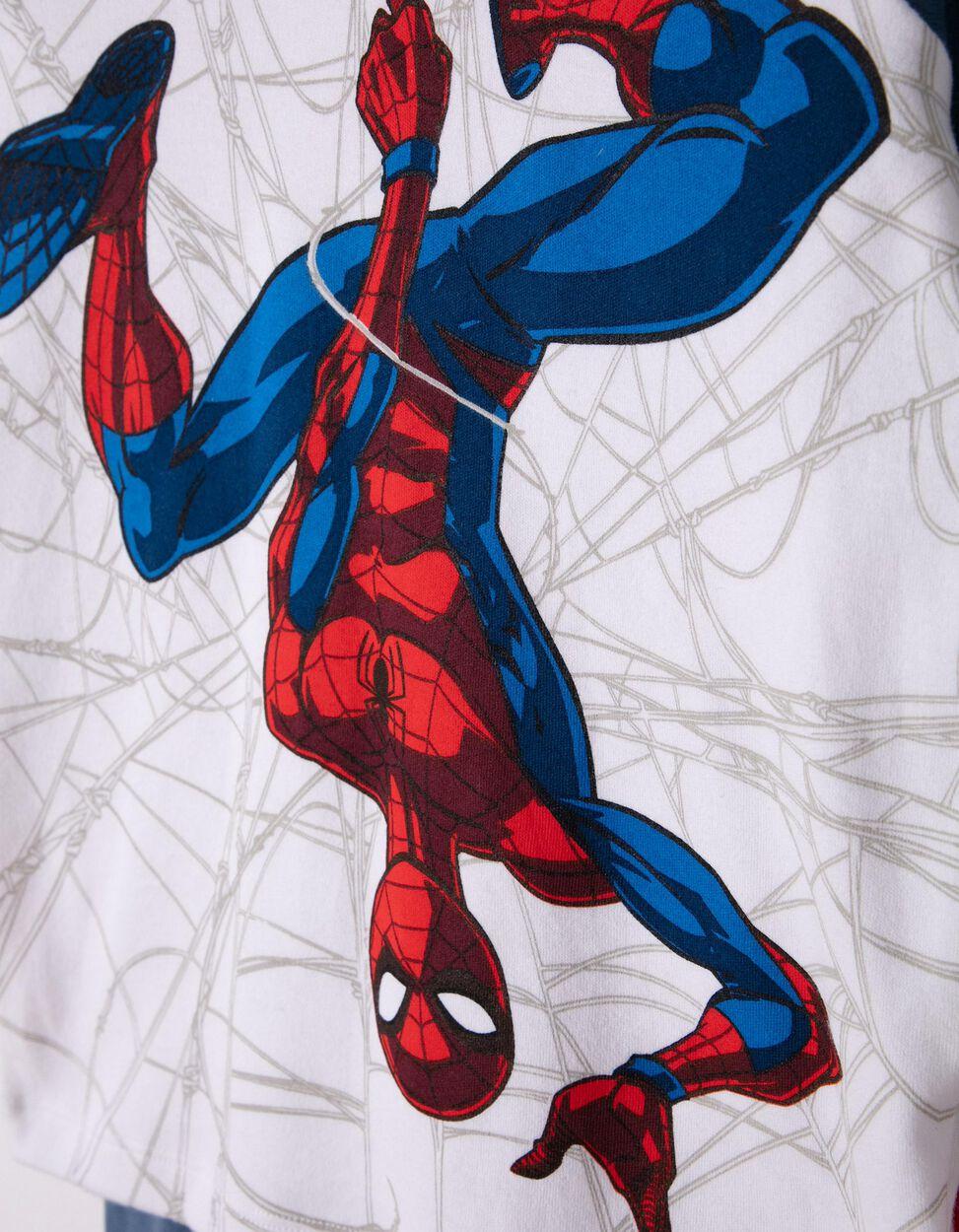 Pijama Manga Comprida e Calças Spider-Man Azul