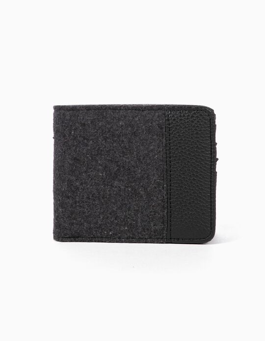 Cardholder, pebbled interior