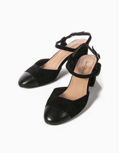 Sapatos Camurça Sintética