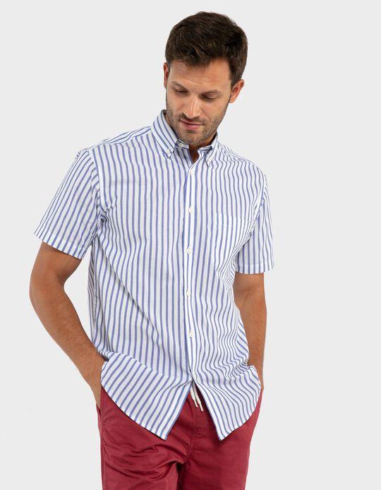 Camisa riscas duplas Essentials