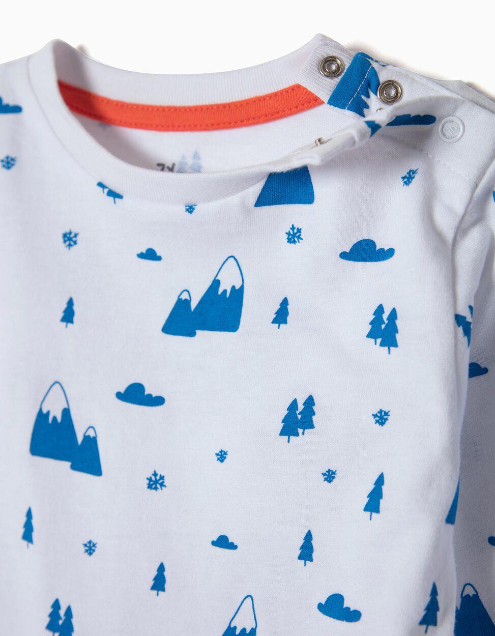 T-shirt Manga Comprida Mountains