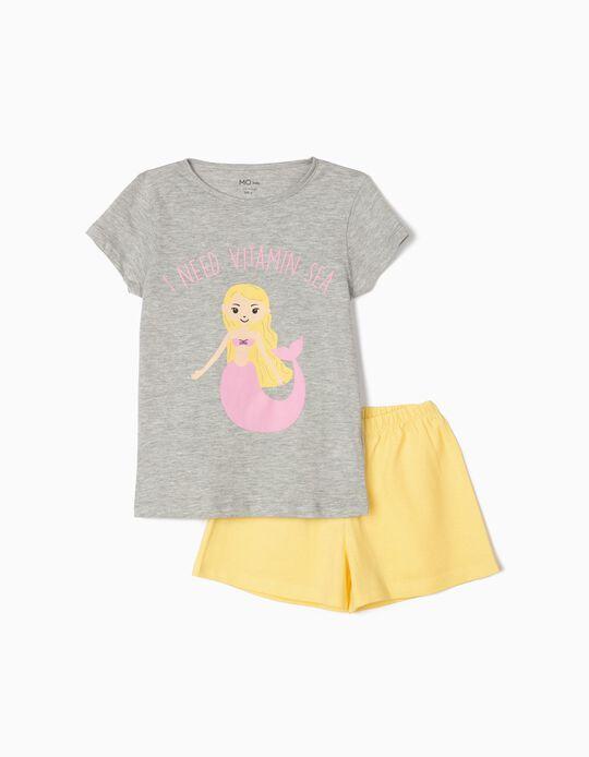 Pijama para Menina, 'Mermaid'