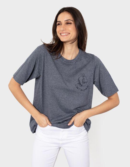 T-shirt 'Tweety', para Mulher