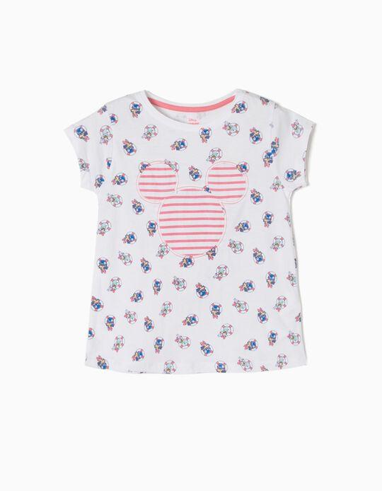 T-shirt Riscas Minnie & Daisy