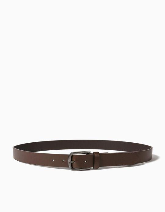 Leather-effect Belt
