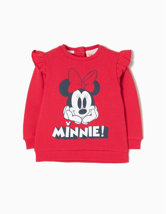 Sweatshirt Folhos Minnie