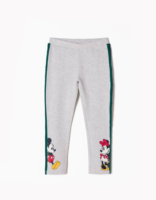 Grey Leggings, Mickey & Minnie