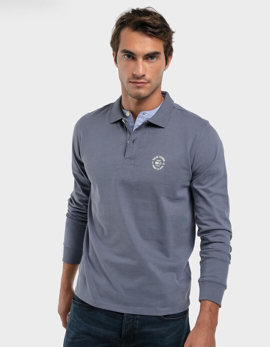 Polo Shirt with Detail on the Collar