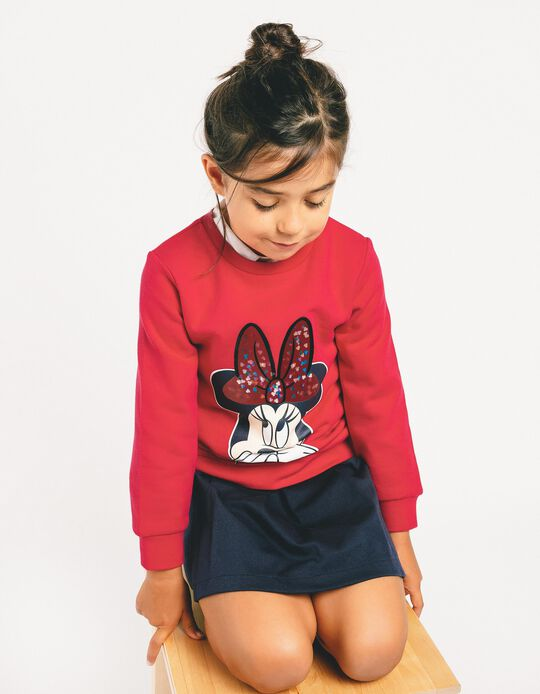 Sweatshirt for Girls 'Minnie', Pink